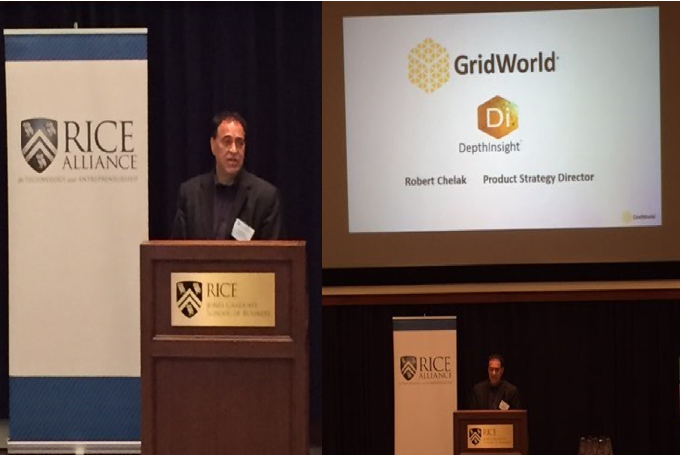 GridWorld Presents at the Rice Alliance Energy and Clean Technology Venture Forum