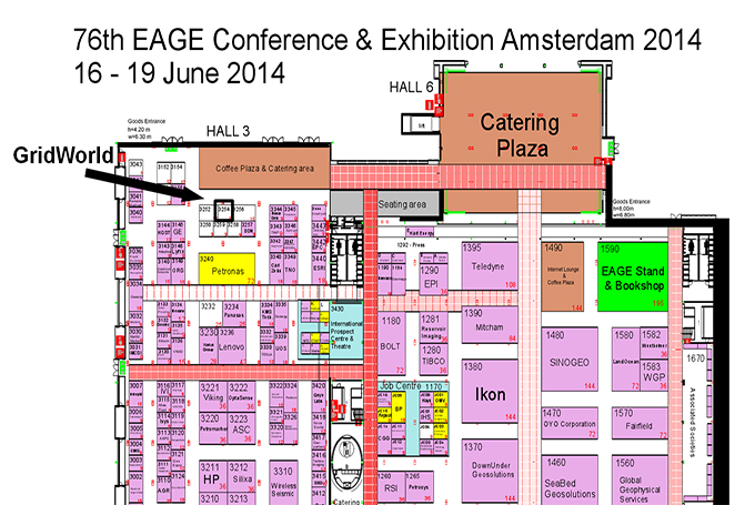Invitation: Visit GridWorld at EAGE 2014, Amsterdam, Netherlands