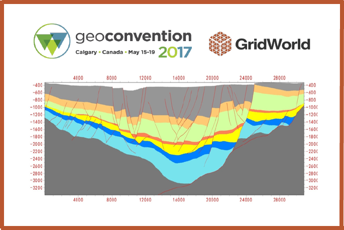 Join GridWorld and Petro-Explorers at the GeoConvention in Calgary May 15-17